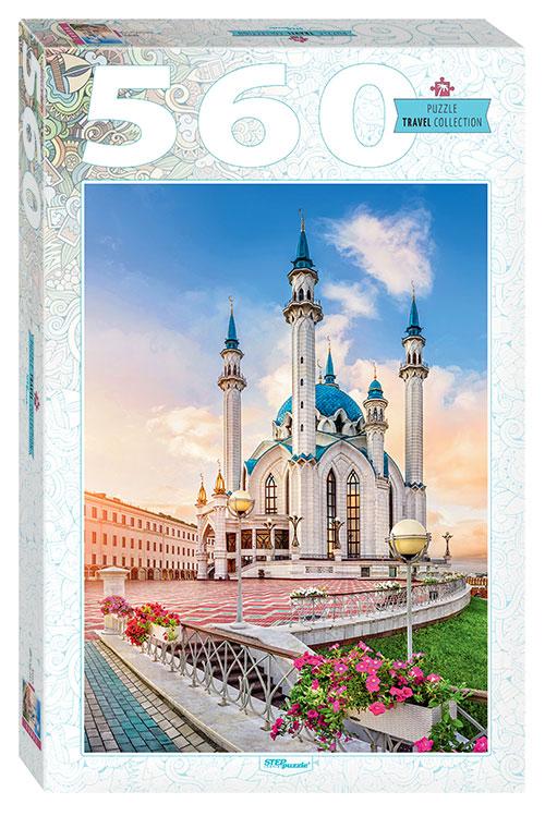 Puzzle Step Puzzle Mezquita Kul Sharif en Kazan de 560 Pzs