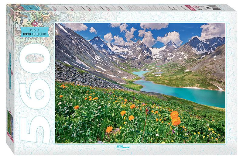 Puzzle Step Puzzle Montañas Altai de 560 Piezas