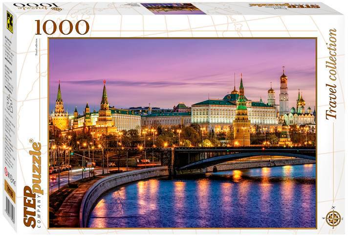 Puzzle Step Puzzle Moscú de Noche de 1000 Piezas