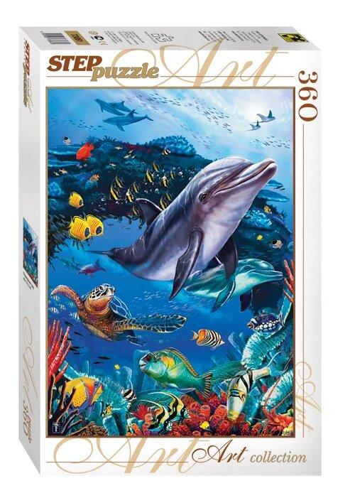 Puzzle Step Puzzle Mundo Submarino de 360 Piezas