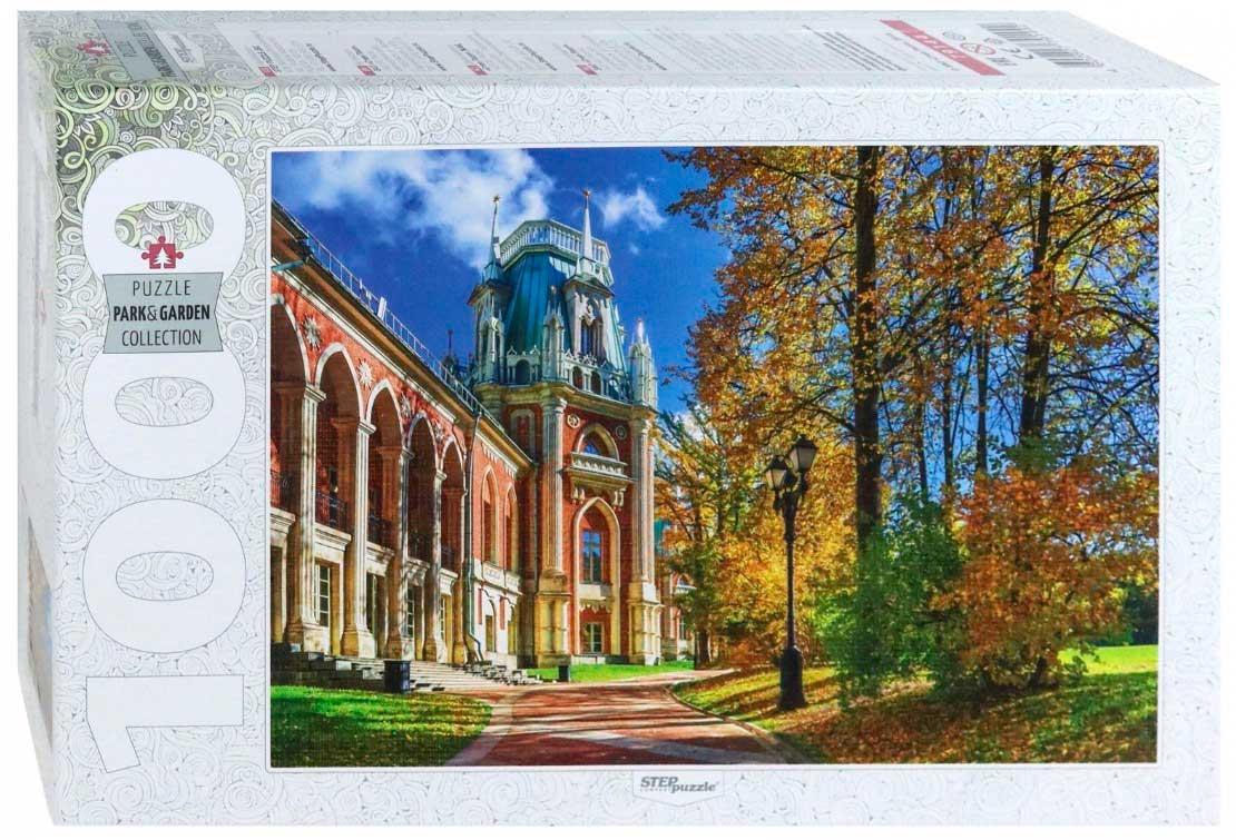 Puzzle Step Puzzle Palacio Tsaritsino de Moscú de 1000 Piezas