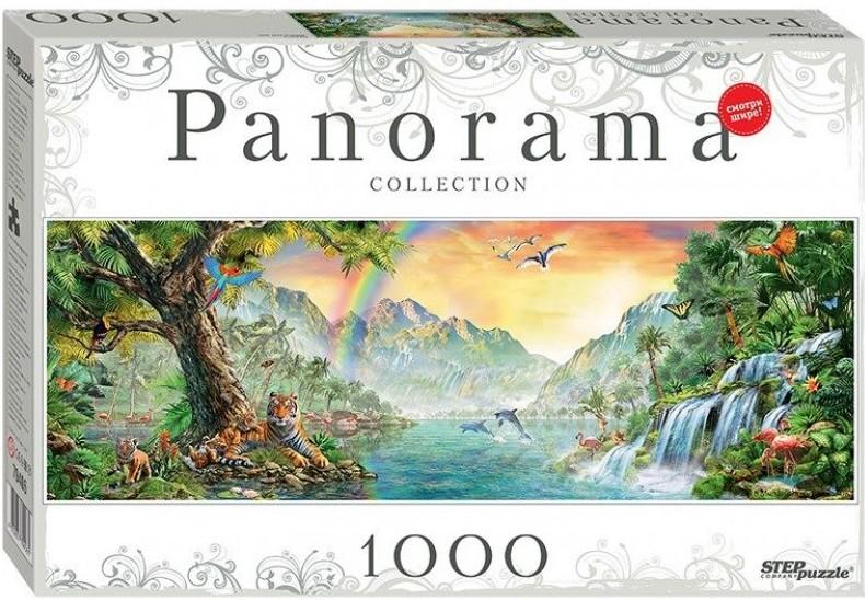 Puzzle Step Puzzle Panorama África de 1000 Piezas