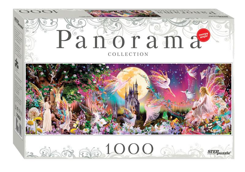Puzzle Step Puzzle Panorama Baile de las Hadas de 1000 Piezas