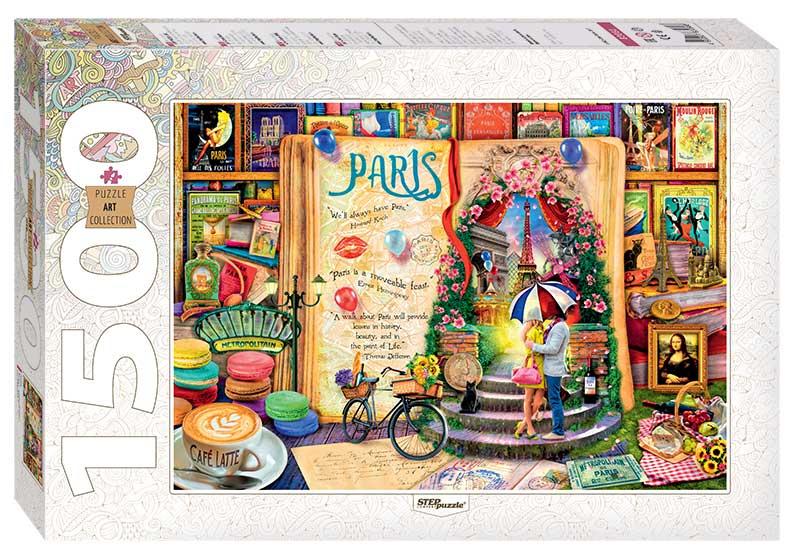 Puzzle Step Puzzle Paris de 1500 Piezas