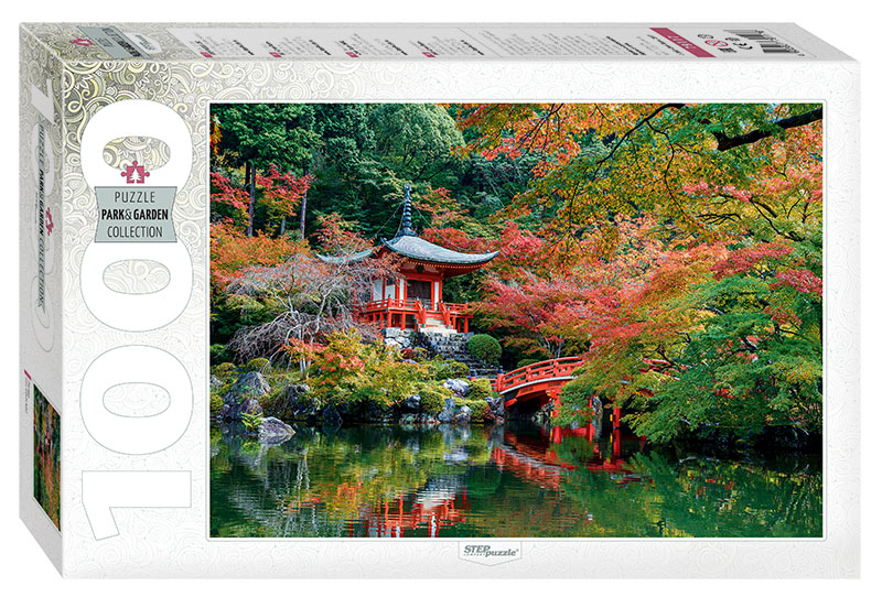 Puzzle Step Puzzle Templo Daigo Ji en Kioto de 1000 Piezas