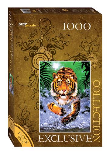 Puzzle Step Puzzle Tigre de 1000 Piezas