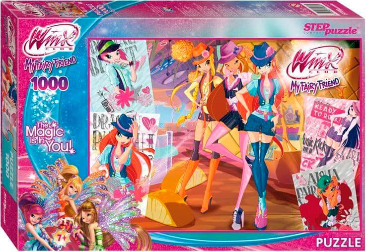 Puzzle Step Puzzle Winx, My Fairy Friend de 1000 Piezas