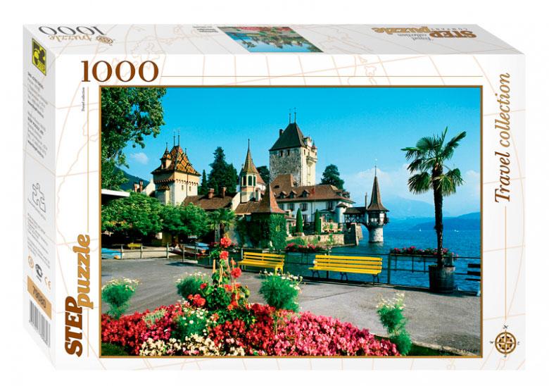 Puzzle Step Puzzle Oberhofen, Suiza de 1000 Piezas