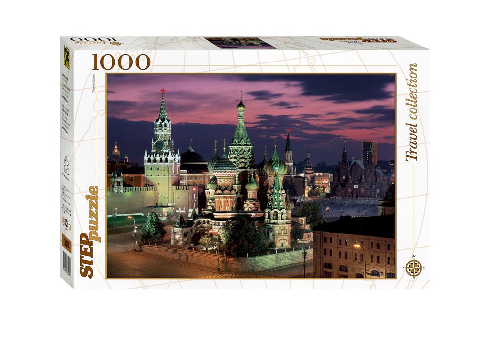 Puzzle Step Puzzle Plaza Roja de Moscú de 1000 Piezas