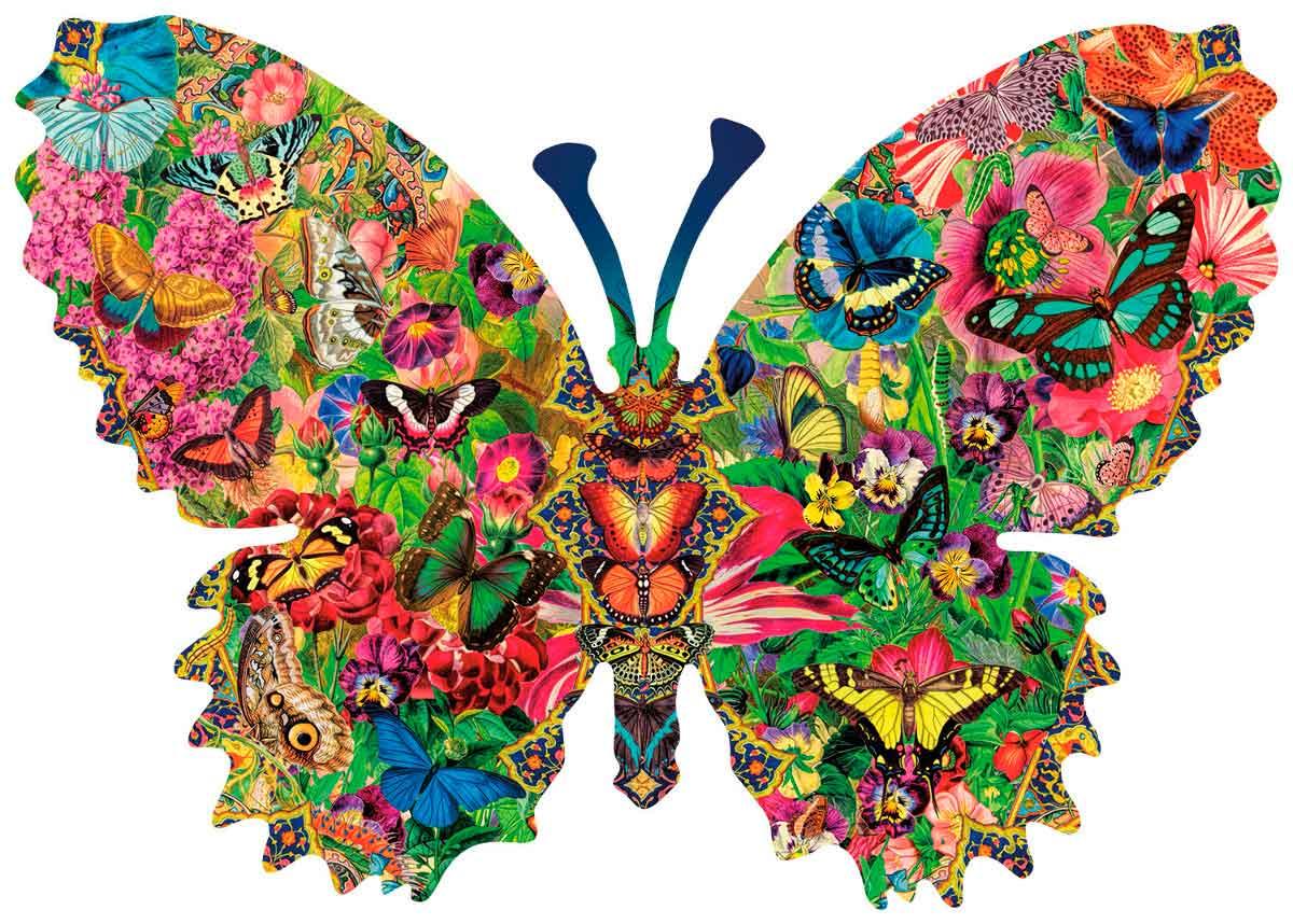 Puzzle SunsOut Colección de Mariposas de 1000 Piezas