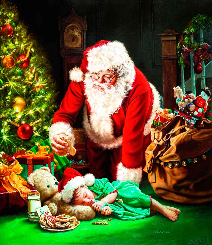 Puzzle SunsOut Galleta para Papa Noel de 1000 Piezas