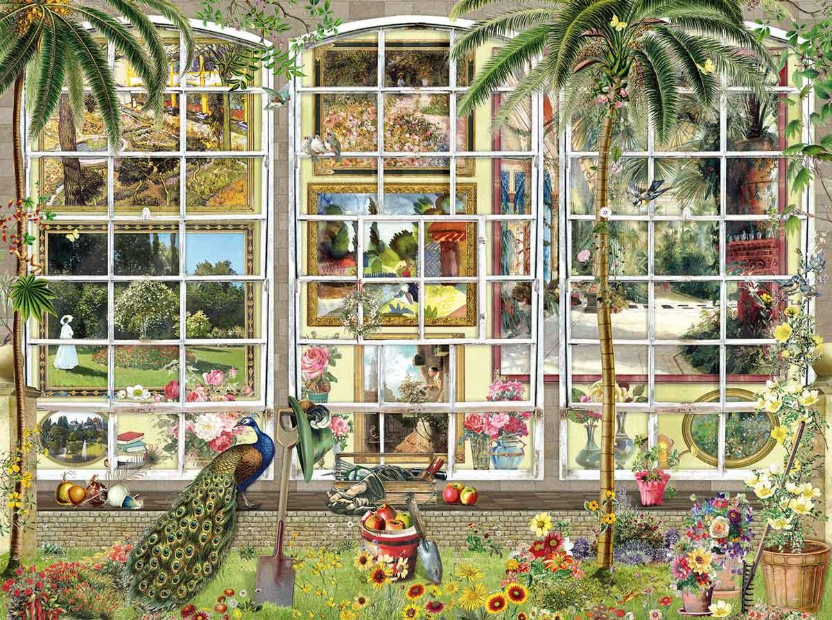 Puzzle SunsOut Jardines Artísticos de 1000 Piezas