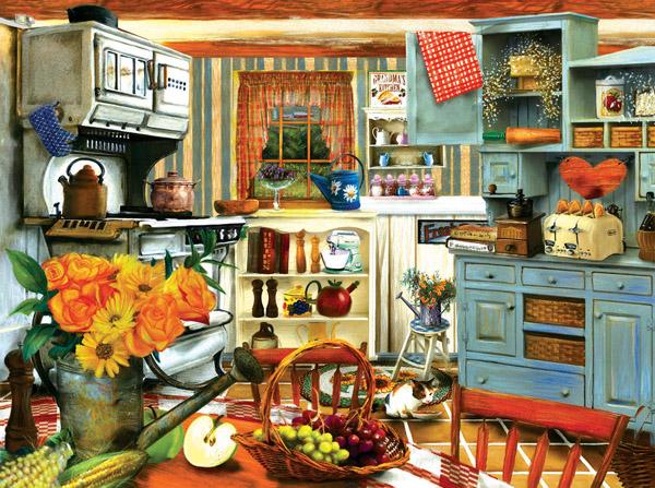 Puzzle SunsOut La Cocina de la Abuela de 1000 Piezas