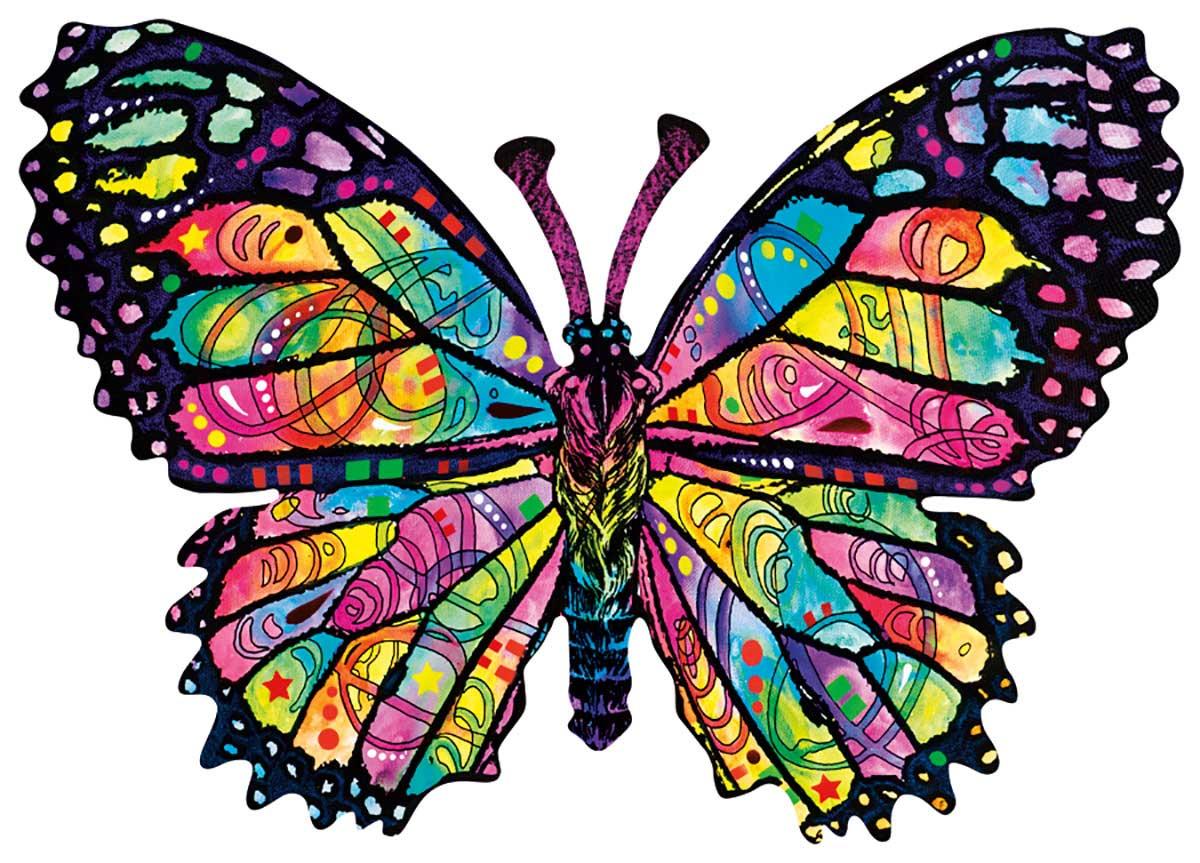Puzzle SunsOut Mariposas de Vidrieras de 1000 Piezas