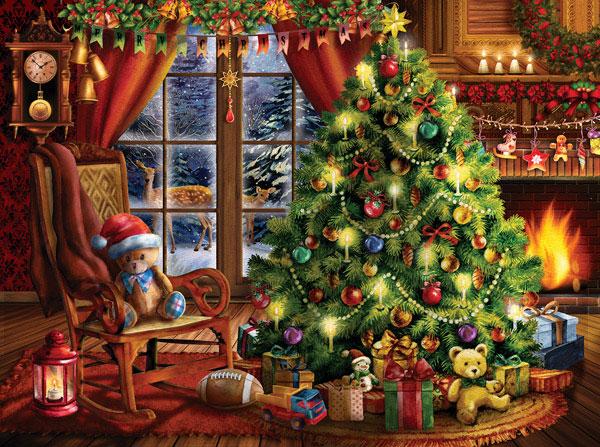 Puzzle SunsOut Memorias de Navidad de 1000 Piezas