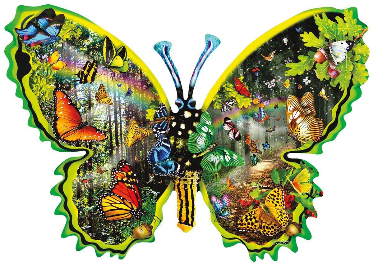 Puzzle SunsOut Migración de Mariposas de 1000 Piezas