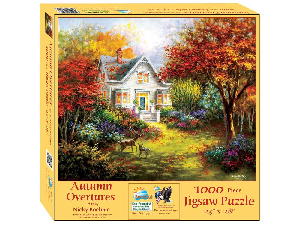 Puzzle SunsOut Overtura de Otoño de 1000 Piezas
