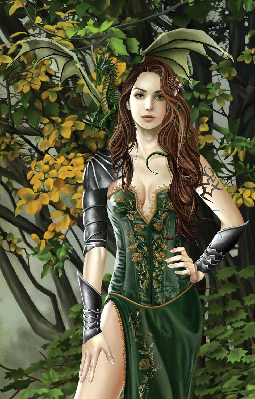 Puzzle SunsOut Retrato Esmeralda de 1000 Piezas