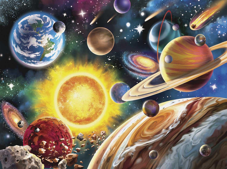 Puzzle SunsOut Sistema Solar de 1000 Piezas