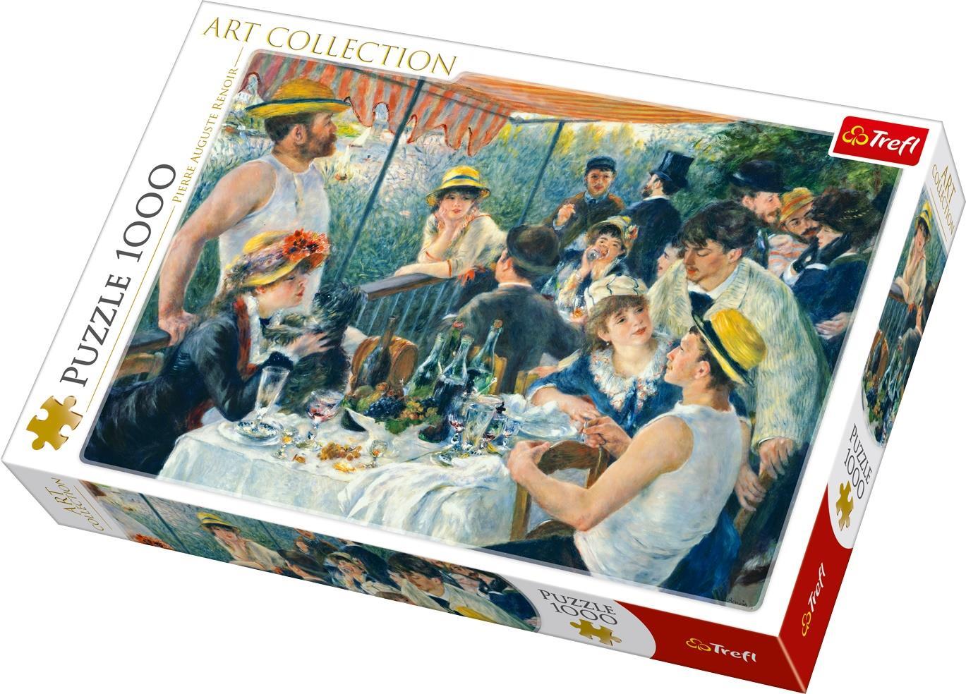 Puzzle Trefl Almuerzo de Remeros de 1000 Piezas