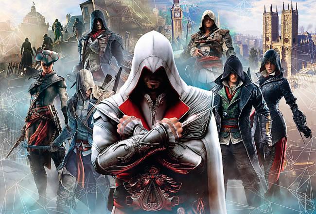 Puzzle Trefl Assasin's Creed el Juego de 1500 Piezas