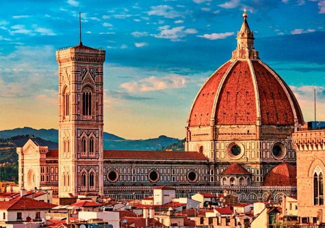 Puzzle Trefl Basílica Santa María del Fiore, Florencia de 1000 P