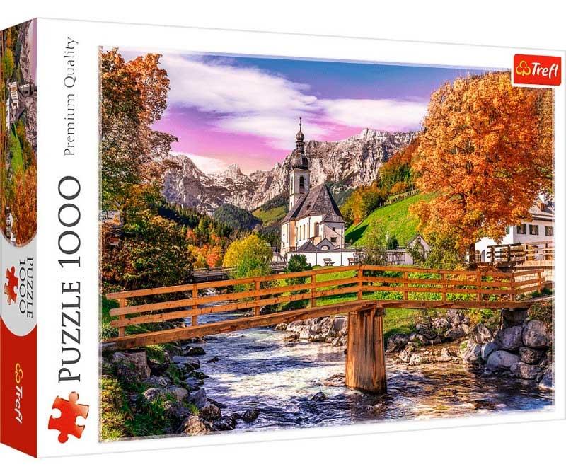 Puzzle Trefl Bavaria en Otoño de 1000 Piezas