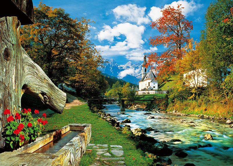 Puzzle Trefl Bavarian Alps, Germany de 2000 Piezas