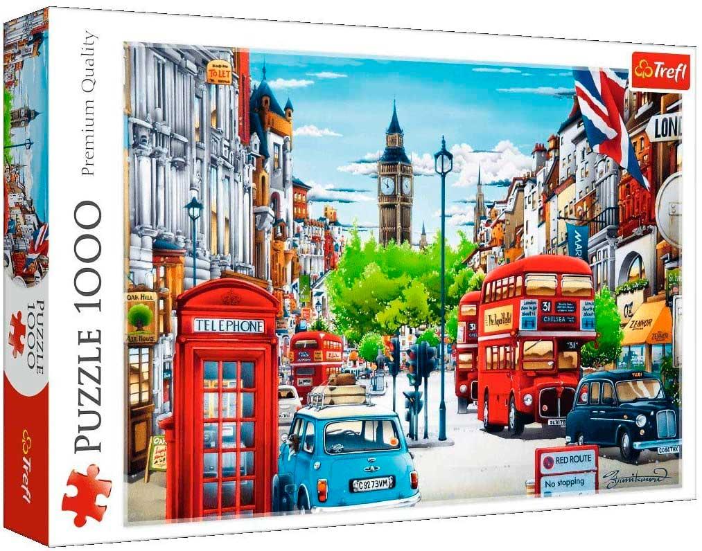 Puzzle Trefl Calle de Londres de 1000 Piezas