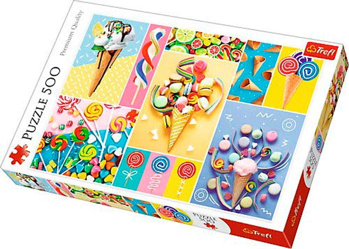 Puzzle Trefl Caramelos Favoritos de 500 Piezas