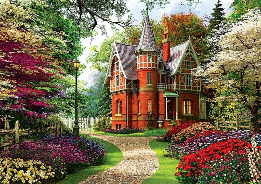 Puzzle Trefl Casa Victoriana de 1000 Piezas