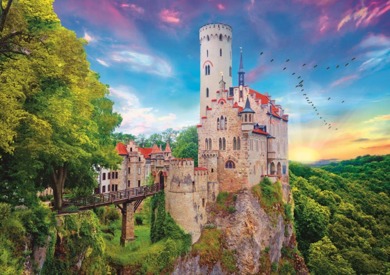 Puzzle Trefl Castillo de Lichtenstein de 1000 Piezas