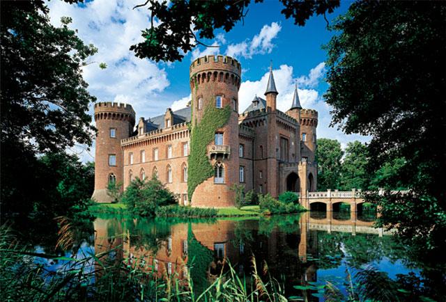 Puzzle Trefl Castillo Moyland, Alemania de 1500 Piezas