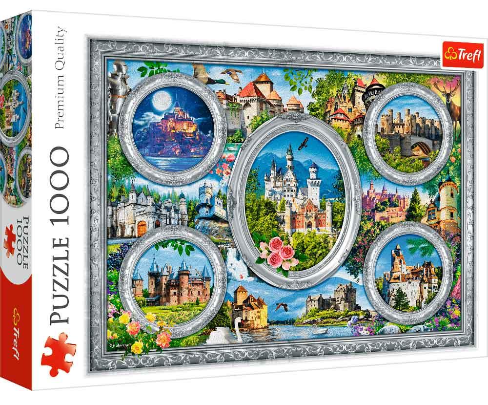 Puzzle Trefl Castillos del Mundo de 1000 Piezas