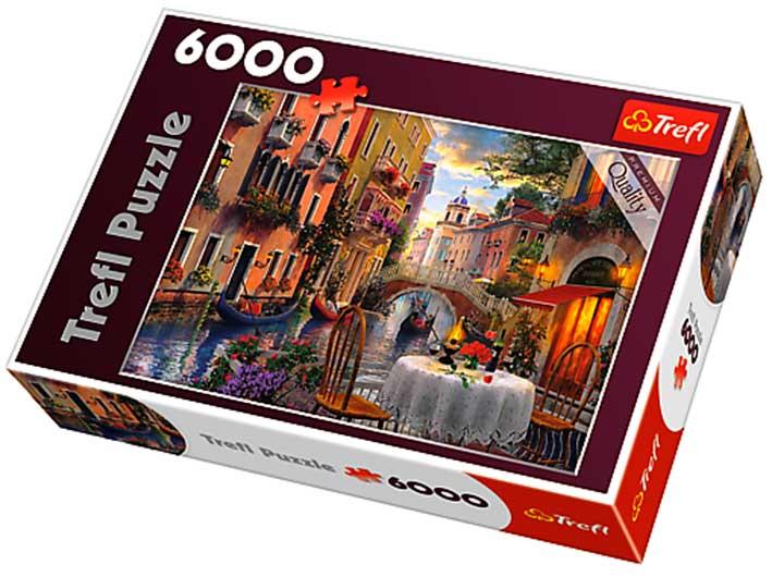 Puzzle Trefl Cena Romántica en Venecia de 6000 Piezas