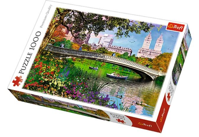 Puzzle Trefl Central Park, Nueva York de 1000 Piezas