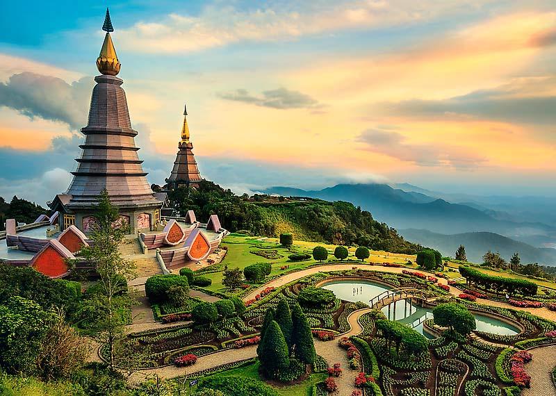Puzzle Trefl Chiang Mai, Tailandia de 2000 Piezas