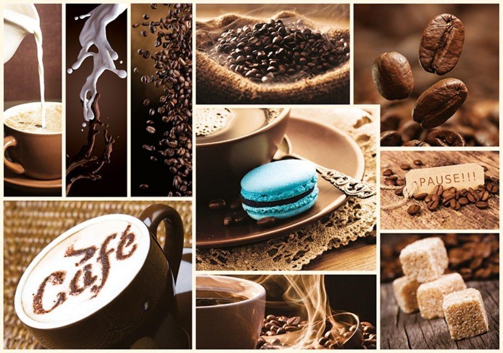 Puzzle Trefl Collage de Café de 1000 Piezas