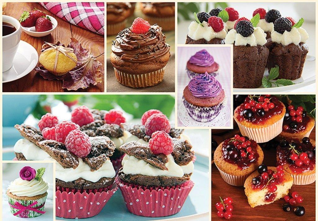 Puzzle Trefl Collage de Muffins de 1000 Piezas