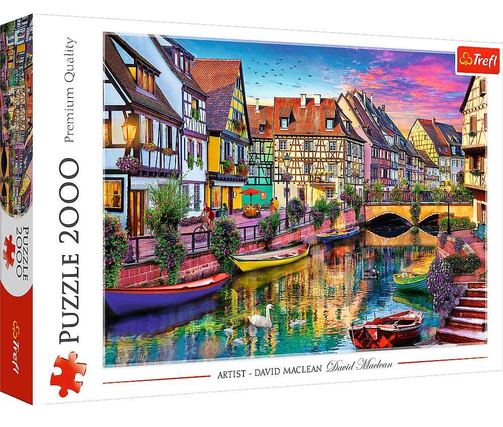 Puzzle Trefl Colmar, Francia de 2000 Piezas