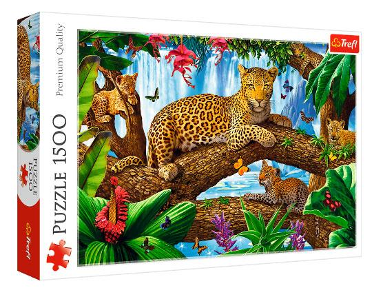 Puzzle Trefl Descansando Entre los Árboles de 1500 Piezas