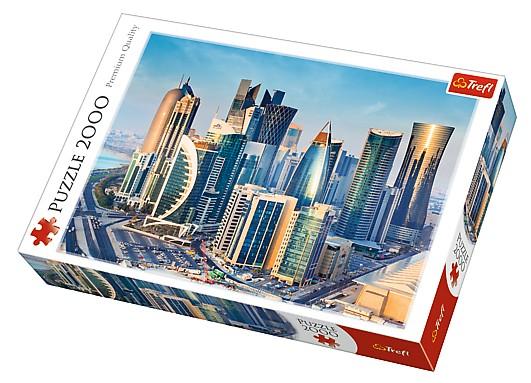 Puzzle Trefl Doha, Qatar de 2000 Piezas