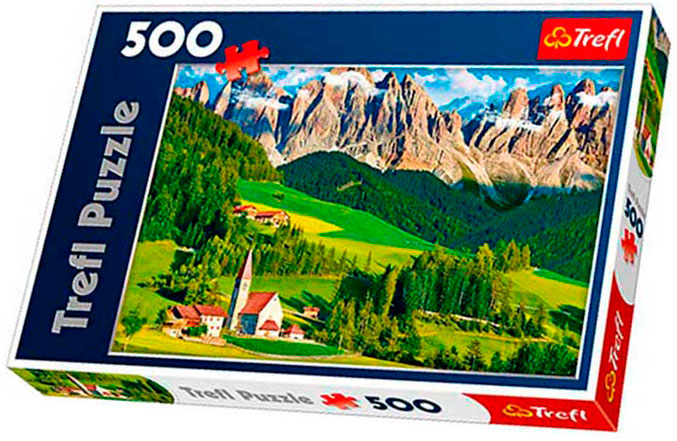 Puzzle Trefl Dolomitas, Italia de 500 piezas
