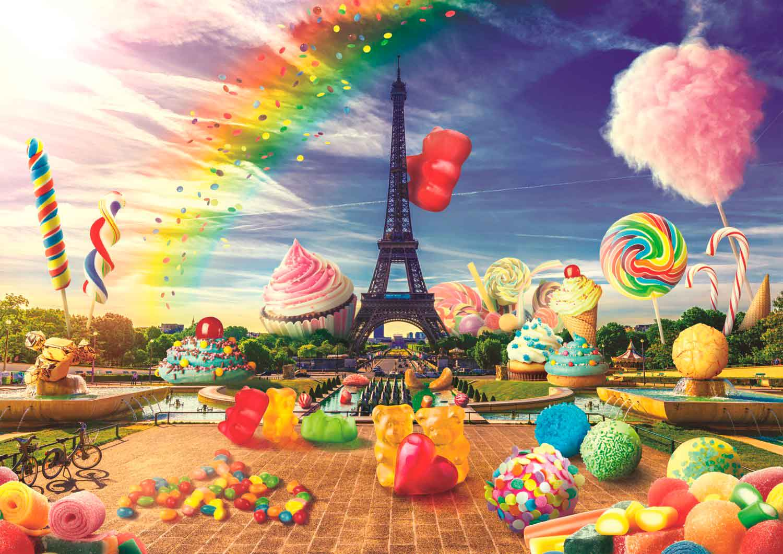 Puzzle Trefl Dulce París de 1000 Piezas