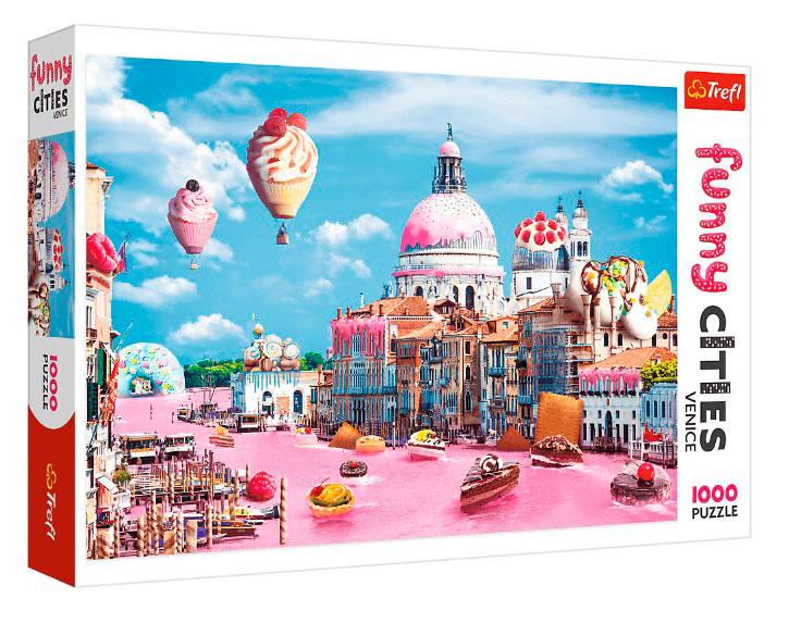 Puzzle Trefl Dulces en Venecia de 1000 Piezas