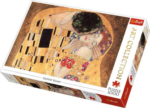 Puzzle Trefl El Beso 1000 Piezas