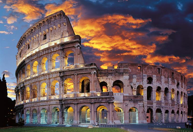 Puzzle Trefl El Coliseo de Roma de 1500 Piezas