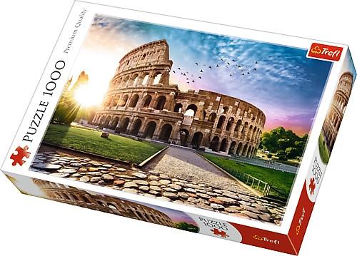 Puzzle Trefl El Coliseo, Roma de 1000 Piezas