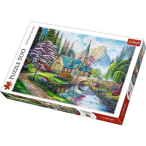 Puzzle Trefl El Refugio de las Hadas de 500 Piezas