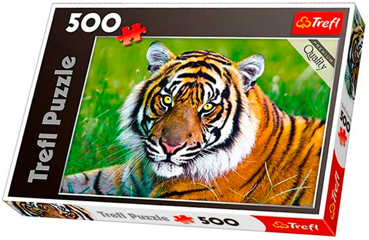 Puzzle Trefl El tigre de 500 Piezas